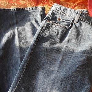 Eddie Bauer Stretch Jeans12R Bootcut